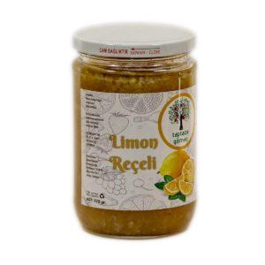 Taptaze Gömeç Limon Reçeli 770 gr Cam